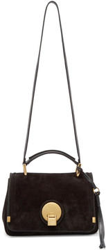Chloé Black Suede Small Indy Bag