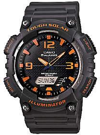 Casio Men's Tough Solar Orange Analog/Digital Sport Watch