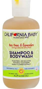 California Baby Tea Tree & Lavender Shampoo & Bodywash - 8.5 oz.