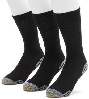 Gold Toe GOLDTOE Men's GOLDTOE 3-pk. Outlast Temperature Control Crew Socks