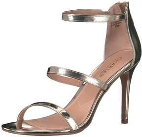Charles David Charles by Womens Ria Open Toe Casual Ankle Strap