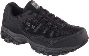 Skechers Cankton Mens Steel-Toe Work Sneakers