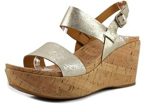 Kork-Ease Ease Austin Open Toe Leather Wedge Sandal.