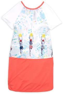 Catimini Little Girl's & Girl's Print T-Shirt Dress