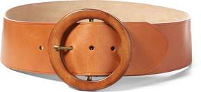 Ralph Lauren Lennox Wood-Buckle Belt