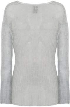 Ann Demeulemeester semi-sheer knitted jumper