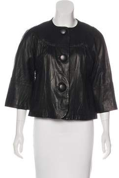Cynthia Steffe Leather Casual Jacket