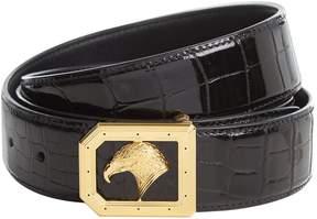 Stefano Ricci Eagle Buckle Alligator Belt