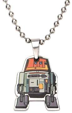 Star Wars Men's Chopper Cut Out Stainless Steel Pendant (18)