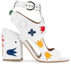 Laurence Dacade 'Naton' floral applique sandals