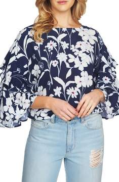 1 STATE 1.STATE Flutter Sleeve Blouse