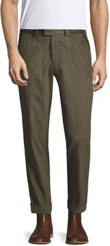 Michael Bastian Men's Herringbone Cotton Pants