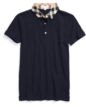 Burberry Boy's William Cotton Polo