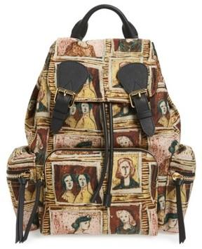 Burberry Medium Henrey Backpack - Brown - BROWN - STYLE