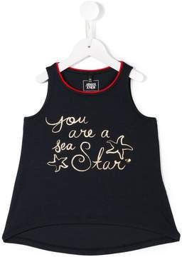 Armani Junior starfish print tank top