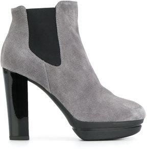 Hogan heeled Chelsea boots