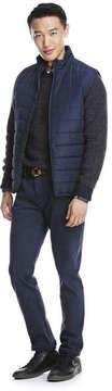 Joe Fresh Men's Marled Knit Sweater, Dark Grey Mix (Size S)