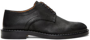 Maison Margiela Black Leather Derbys