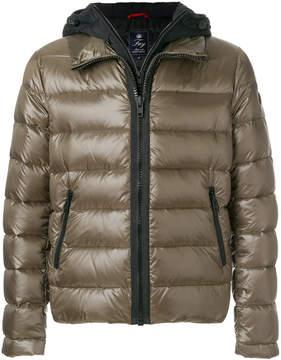 Fay layered puffer jacket