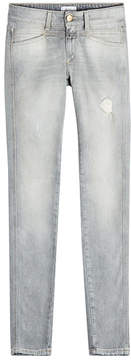 Closed Pedal Star Distressed Skinny Jeans