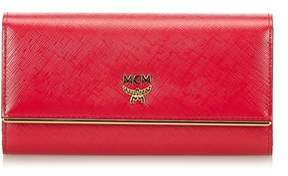 MCM Pre-owned: Ivana Bloom Trifold Long Wallet.