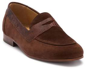 H By Hudson Follen Suede Penny Loafer