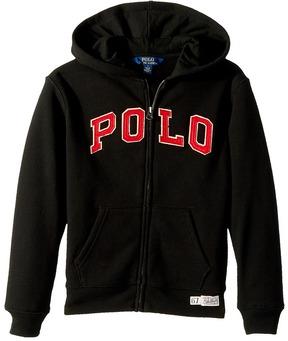 Polo Ralph Lauren Cotton-Blend-Fleece Hoodie Boy's Sweatshirt
