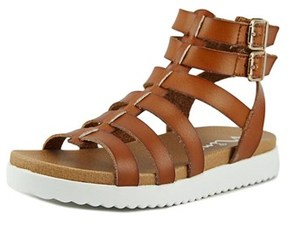 Nina Kandiss Open Toe Synthetic Gladiator Sandal.