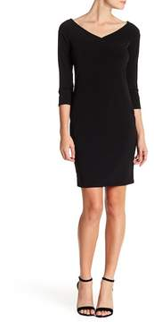 Velvet by Graham & Spencer Marquette Jersey Sheath Dress