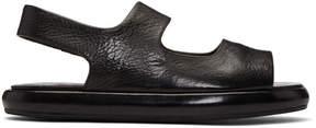 Marsèll Black Ciambella Sandals