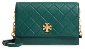 Tory Burch Georgia Quilted Leather Shoulder Bag - Green