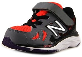 New Balance Kv790 Toddler Round Toe Leather Gray Sneakers.