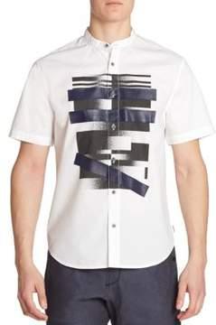 Madison Supply Woven Short Sleeve Shirt