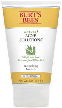 Natural Acne Solutions Pore Refining Scrub by Burt's Bees (4oz Scrub)