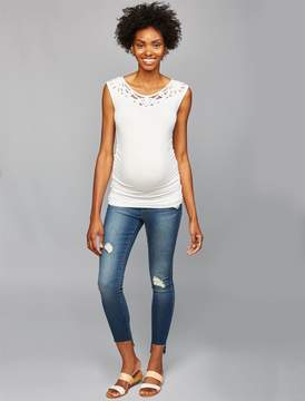 Articles of Society Secret Fit Belly Stephanie Maternity Jeans- Raven