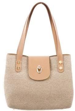 Eric Javits Straw Handle Bag