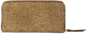 Borbonese Suede Zip Wallet