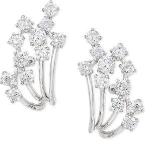 Effy Pave Classica by Diamond Earrings (7/8 ct. t.w.) in 14k White Gold