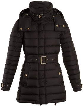 Burberry Harrowden belted quilted down coat