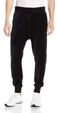 Puma Men's Velour T7 Pant, Black, XXL