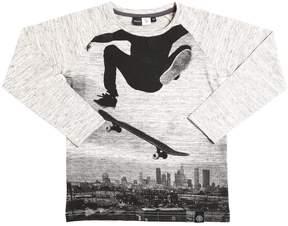 Molo Skate Print Cotton Jersey T-Shirt