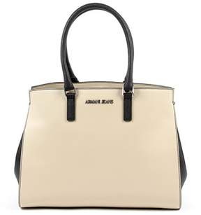 Armani Jeans Womens Handbag Beige.