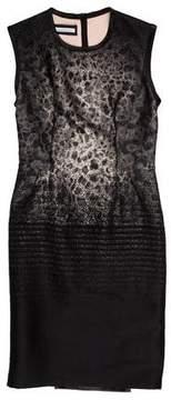 Aquilano Rimondi Aquilano.Rimondi Wool-Blend Jacquard Dress