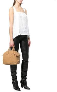 Givenchy Women's Beige Leather Handbag.