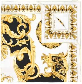 Versace Baroque print scarf