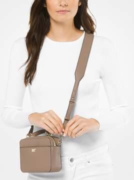 MICHAEL Michael Kors Mott Mini Pebbled Leather Crossbody