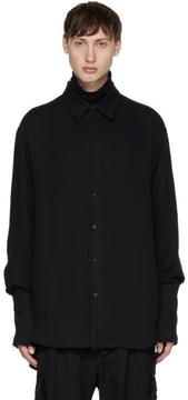 Yang Li Black Oversized Shirt