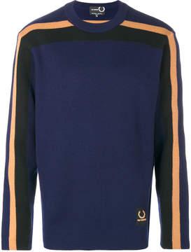 Fred Perry contrast stripe sweatshirt
