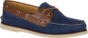 Sperry Gold Cup Authentic Original 2-Eye Nubuck Boat Shoe