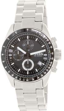 Fossil Men's CH2600 Tachymeter Stainless Steel Watch, 44mm
